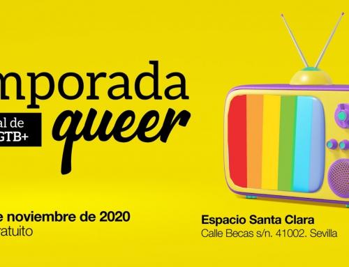 Temporada Queer, el Festival de Series LGTB+, confirma la celebración de su segunda edición el 20 y 21 de noviembre